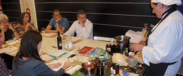 Cursos de cocina italiana para chef españoles