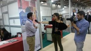 Giovanni Aricò - director gerente de la CCIS - entrevistado en Gastrónoma