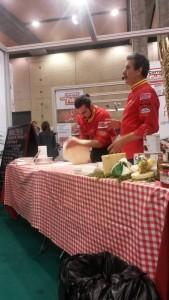 Showcooking de Jesús Marquinetti - campeón mundial de pizza gourmet