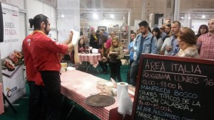 Showcooking de Jesús Marquinetti - campeón mundial de pizza gourmet 2
