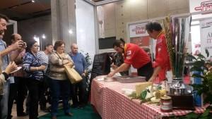 Showcooking de Jesús Marquinetti - campeón mundial de pizza gourmet 3