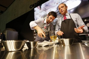 showcooking Alessandro Castro y Manfred Bosco 3