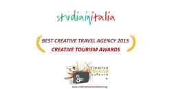 Studiainitalia vince il premio come miglior agenzia di turismo creativo