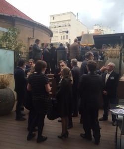 Más de 120 personas en el  primer European Business Drink en Valencia