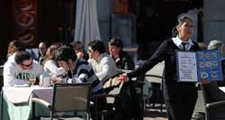Segnali di recupero per il settore della ristorazione in Spagna