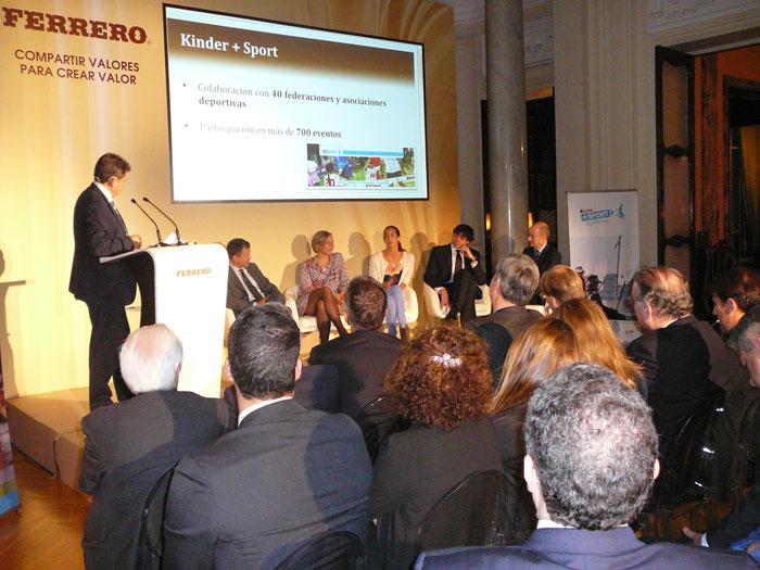 Presentato a Madrid il quinto Rapporto di Responsabilità Sociale d'Impresa del Gruppo Ferrero
