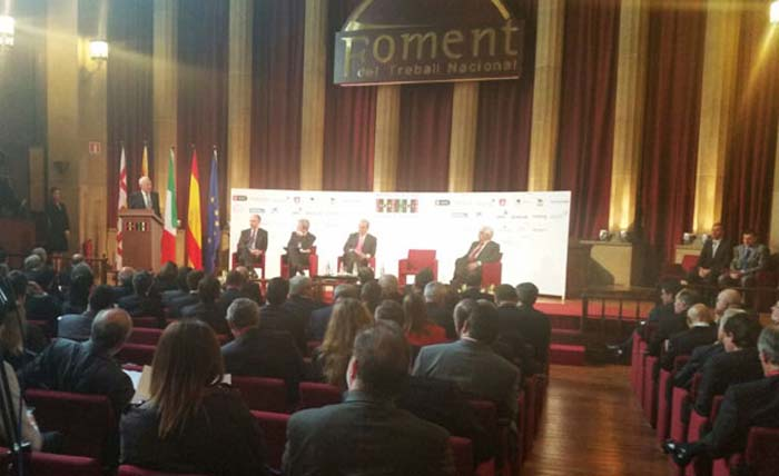 Immagine della sessione mattutina del XIV Foro di Dialogo Italia-Spagna