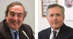 Juan Rosell y Alfredo Altavilla se alzan con el Premio Tiepolo  2015