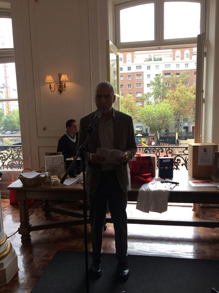 El embajador italiano Stefano Sannino