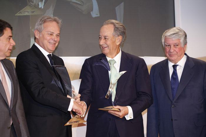 Consegnato il Premio Tiepolo 2013 a Pietro Salini e Juan-Miguel Villar Mir