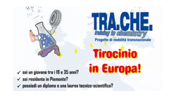 Proyecto TRA.CHE. – training to chemistry