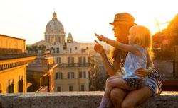 Como viajan las familias italianas en la era digital