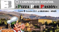 """3º Campeonato español """"Pizza por pasión"""" en Granada"""