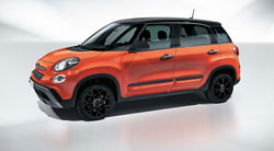 Arriva la nuova Fiat 500L City Cross