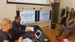 La CCIS se ha reunido con pymes de la región Lazio interesadas en internacionalizarse