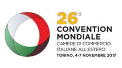 La CCIS participará en la Convención Mundial de las 78 Cámaras de Comercio Italianas en el exterior