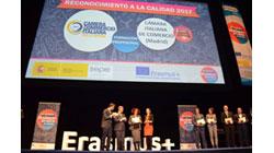"""Entrega """"Reconocimiento a la calidad"""" Erasmus+"""