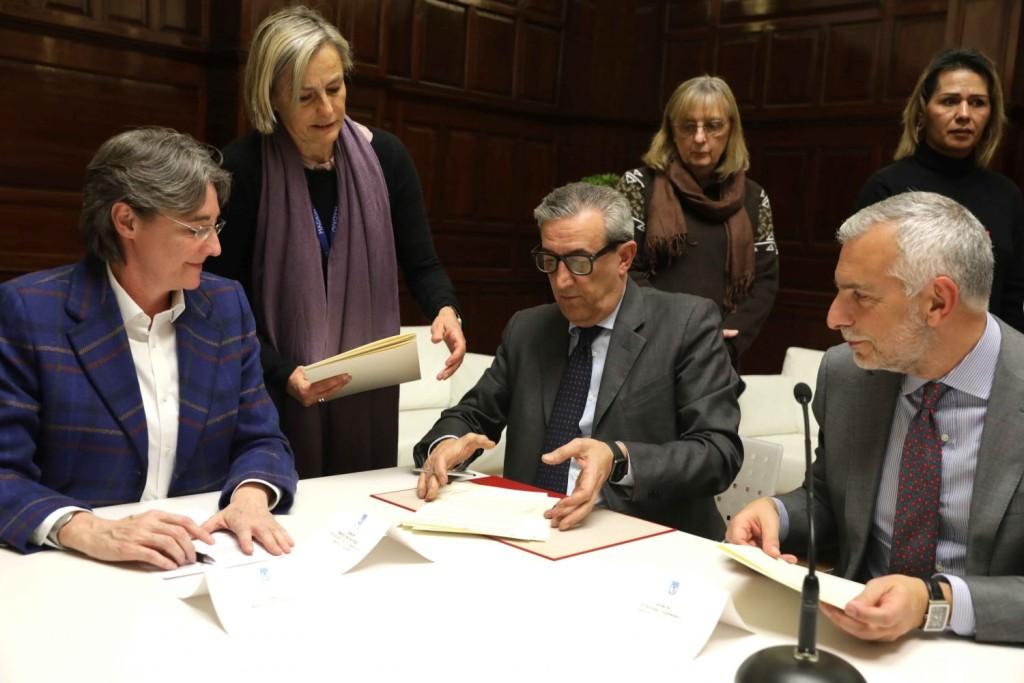 firma convenio Pizzi