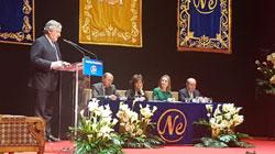 Antonio Tajani recibe en Madrid el premio Nueva Economía Fórum