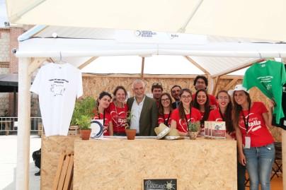 xPassione Italia 2018 Ambasciatore Sannino con alcuni dei membri dello staff CCIS