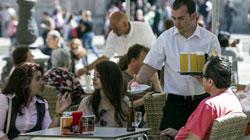 El sector servicios crece en España