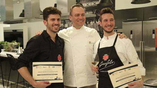 """Los ganadores del concurso """"Jóvenes talentos de la cocina italiana"""""""