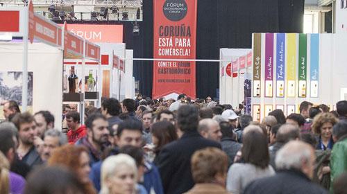 Gran éxito del Fórum  Gastronómico de La Coruña