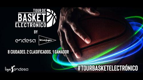 """Il Corte Inglés ed  Endesa lanciano il """"Tour di Basket Elettronico"""""""