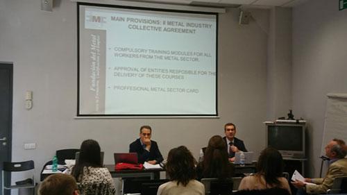 Tercer encuentro transnacional del proyecto Memevet en la sede de la CCIS