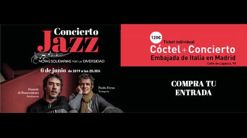 """Concerto benefico """"Notas Solidarias por la diversidad"""""""
