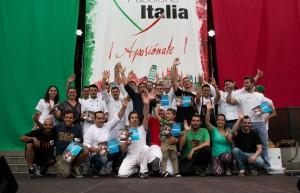 I partecipanti del Campionato di Pizza d'Autore