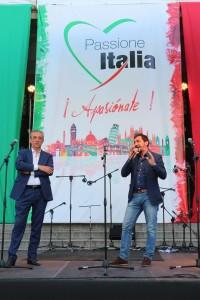 Il Presidente della CCIS, Marco Pizzi (sin.) con il Segretario Generale, Giovanni Aricò