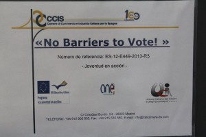 No barriers to vote4