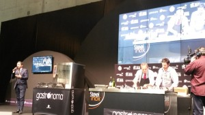 showcooking Alessandro Castro y Manfred Bosco 2