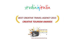 Studiainitalia obtiene el Premio a la Mejor Agencia de Turismo Creativo