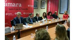 Firmado el acuerdo de colaboración entre la CCIS y la Cámara de Comercio de Tenerife