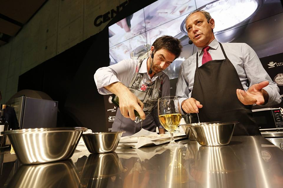 showcooking Alessandro Castro y Manfredi Bosco 3
