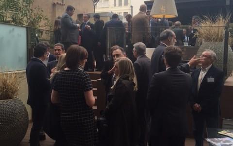 Più di 120 persone al primo European Business Drink a Valencia