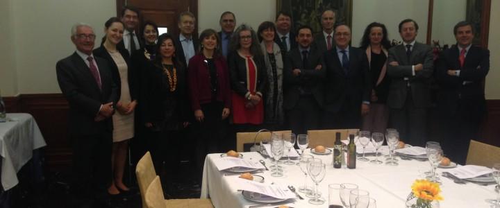 Colazione di lavoro dei Presidenti e Segretari Generali delle Camere Europee in Spagna