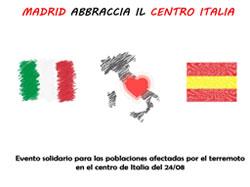 """Jornada solidaria """"Madrid abraza al centro de Italia"""""""