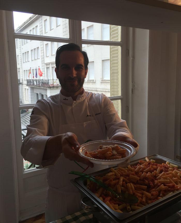El chef estrellado Mario Sandoval