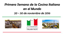 Se cierra con éxito la Primera Semana de la Cocina Italiana en el Mundo