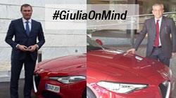 Ignacio Mariscal e Marco Pizzi primi Brand Ambassador #GiuliaOnMind