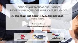 """""""Coaching con PNL para tu liderazgo"""", il laboratorio organizzato dalla CCIS e Cataliza"""