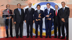 Antonio Huertas (Mapfre) y Urbano Cairo (RCS MediaGroup) reciben el Premio Tiepolo  2017