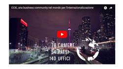 Il video di presentazione delle Camere di Commercio Italiane all'Estero