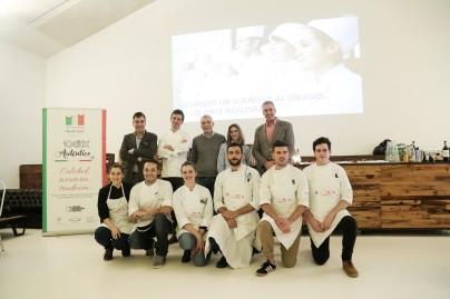 Final Concurso Jóvenes talentos de la cocina italiana 9