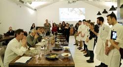 Final del concurso Jóvenes talentos de la cocina italiana