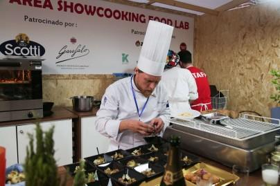 xPassione Italia 2018_Dia 2-335 Lo chef Marco Bozzolini nel Food Lab