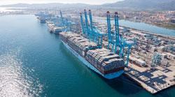 Los puertos españoles registran un nuevo récord en movimiento de mercancías
